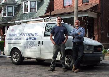 Toronto High Efficiency Boiler Installation